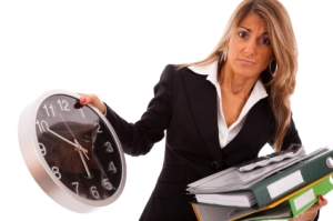 Doing fewer hours at work doesn't improve life satisfaction. (pic: istockphoto.com/hjalmeida)