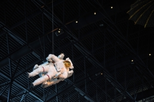 Like this astronaut, losing gravity is a powerful metaphor for grief. (pic courtesy of porbital/FreeDigitalPhotos.net)