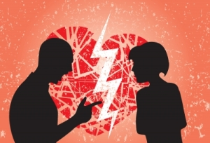 One in four children grow up in loveless households. (pic courtesy of FreeDigitalPhotos.net/smarnad)