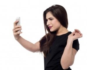 davanti selfie
